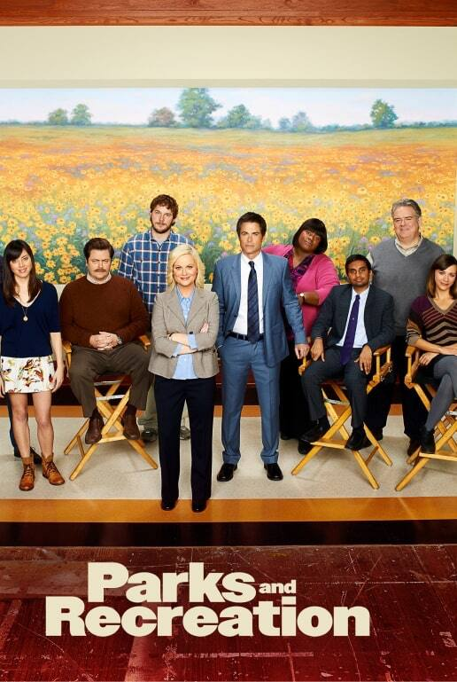 Parks and Recreation Key Art