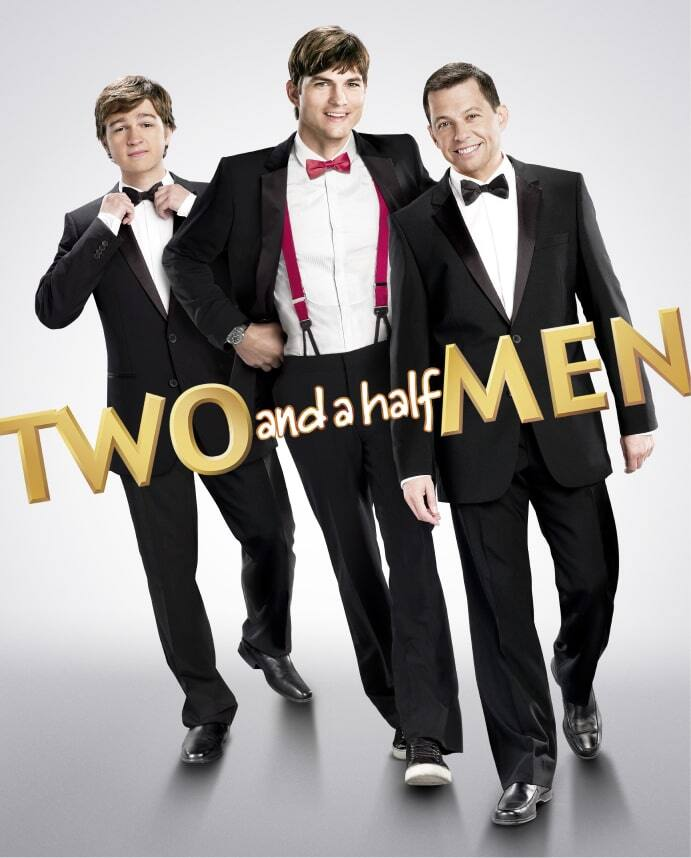 Two and a Half Men Key Art
