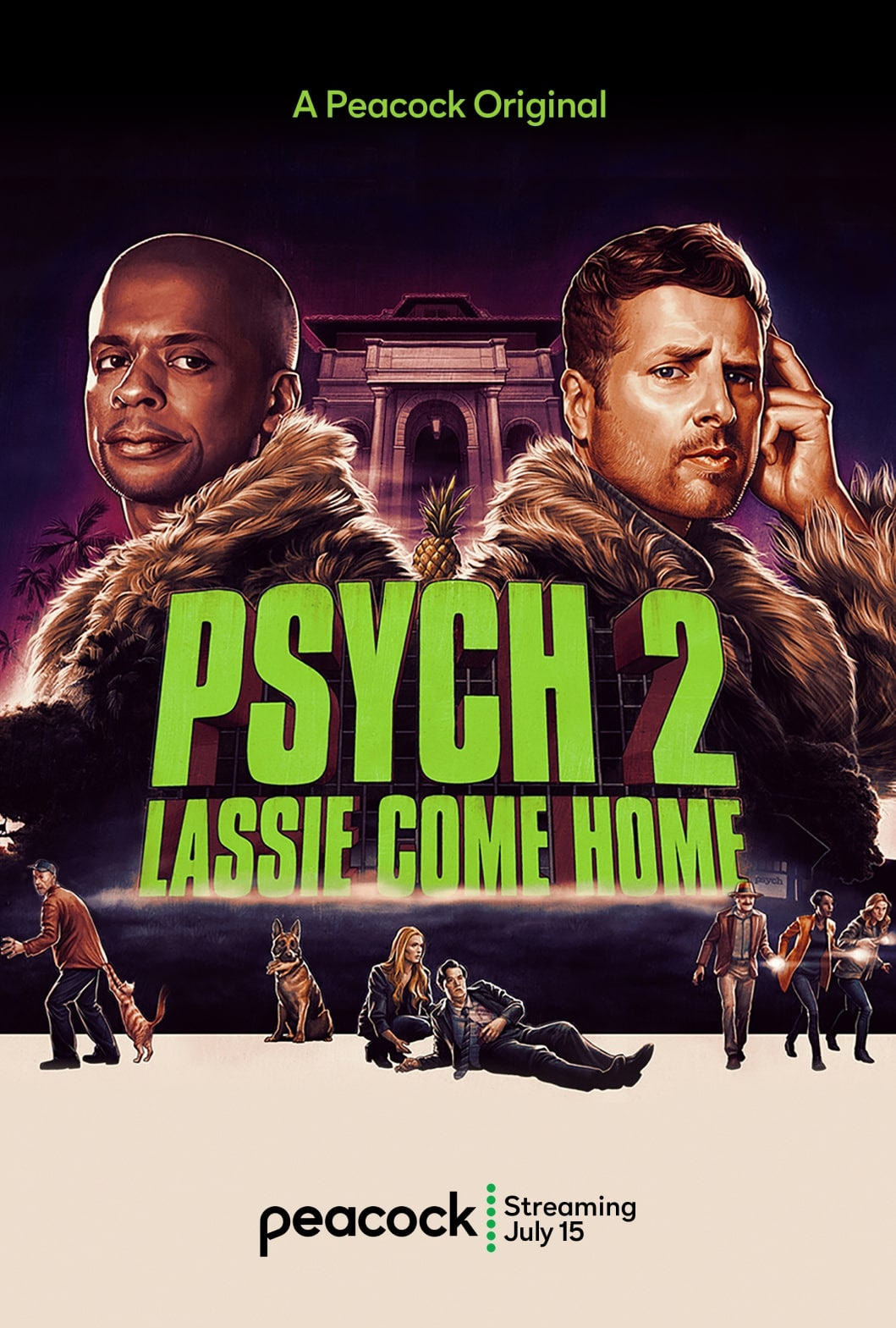 Watch Psych 2 Lassie Come Home Online Peacock