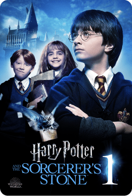Harry Potter and the Sorcerer's Stone Key Art