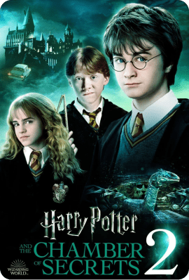 Harry Potter and the Chamber of Secrets Key Art