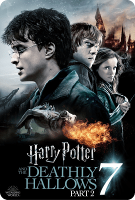 Harry Potter and the Deathly Hallows Part Two Key Art