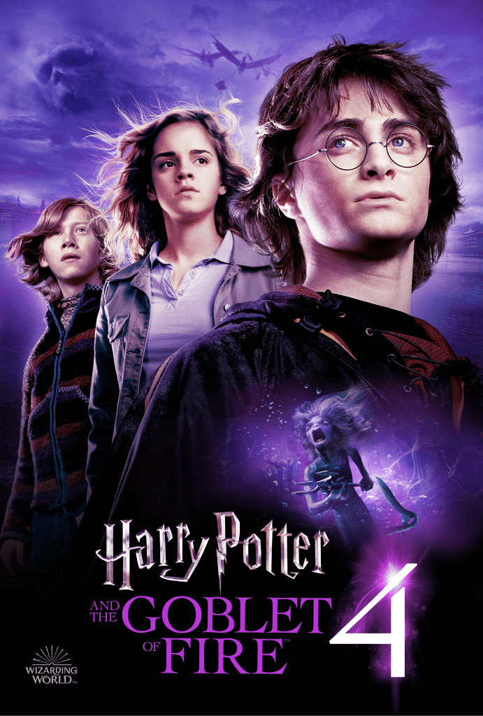 Harry Potter and the Goblet of Fire Key Art
