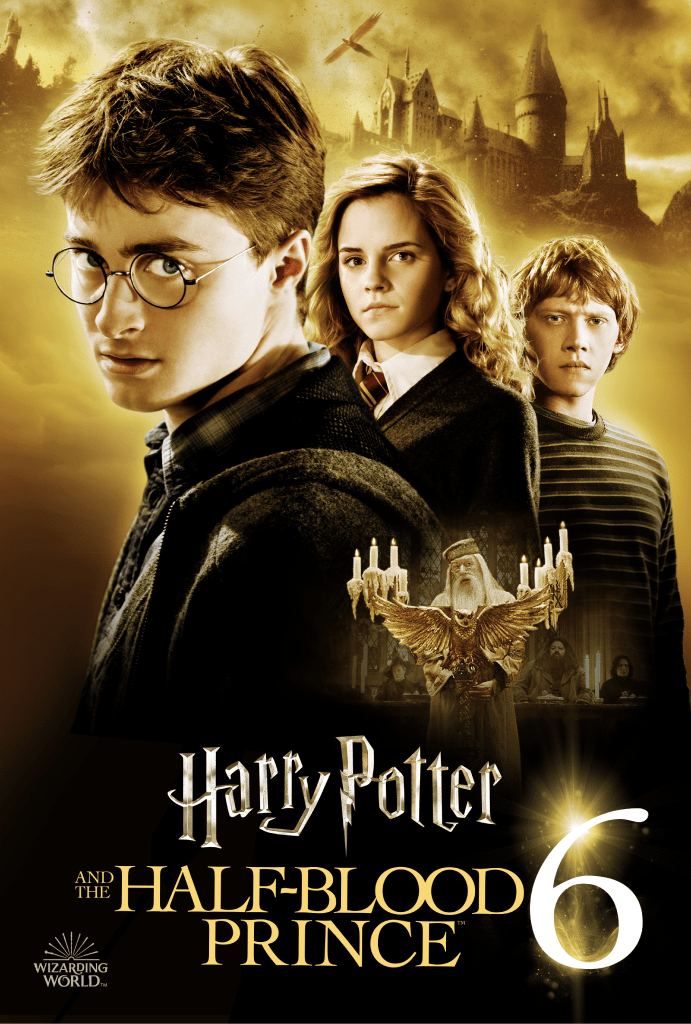 Harry Potter and the Half-Blood Prince Key Art